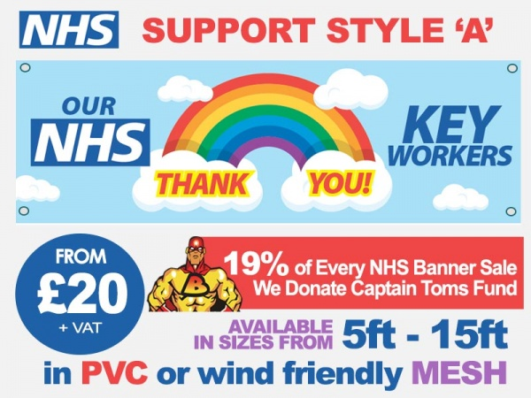 NHS Support Banner A