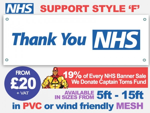 NHS Support Banner F