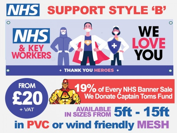 NHS Support Banner B