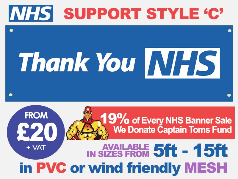 NHS Support Banner C