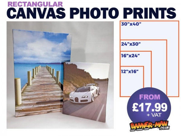 Canvas Photos Rectangular
